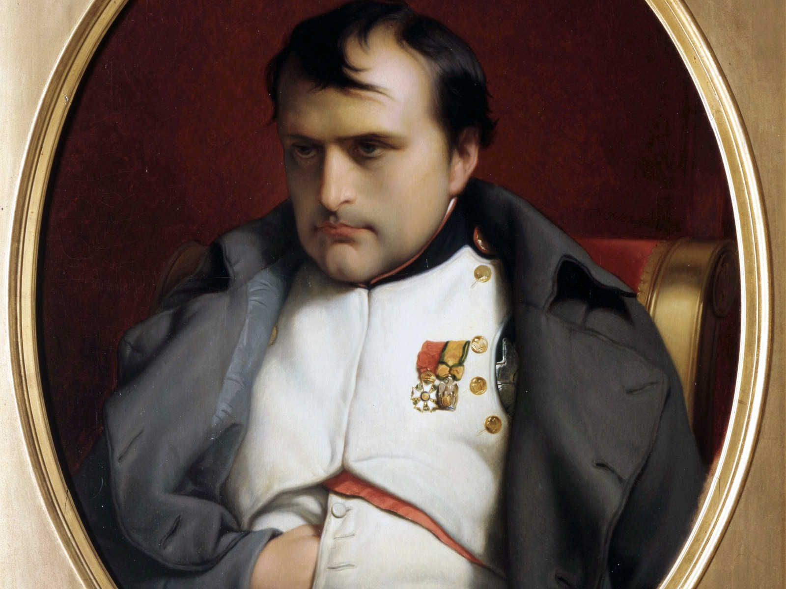 Image result for napoleon bonaparte abdicts in 1814