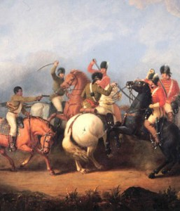 William Ranney, Battle of Cowpens, 1845, oil, South Carolina State House