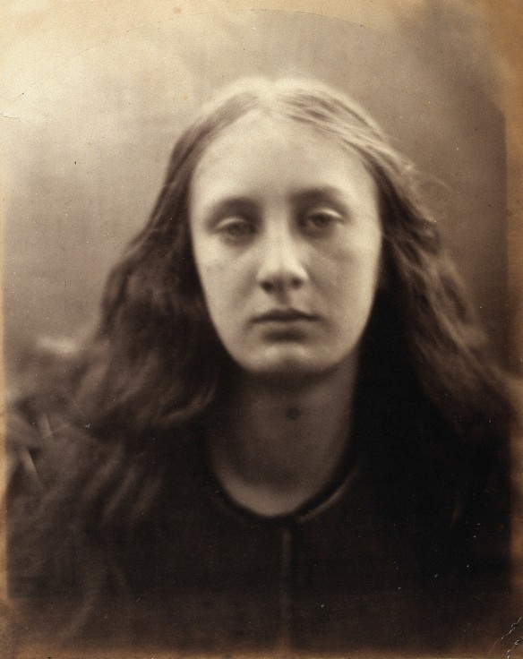 V0027589 May Prinsep. Photograph by Julia Margaret Cameron.