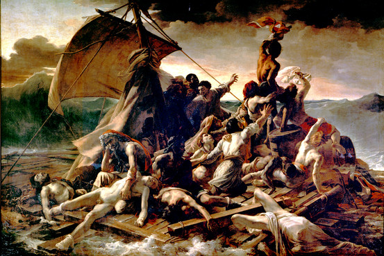raft of the medusa by thedore gericault